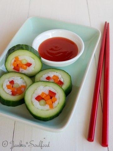 Rezept Gurken-Sushi