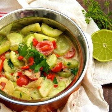 Rezept Gurkencurry mit Kokosmilch