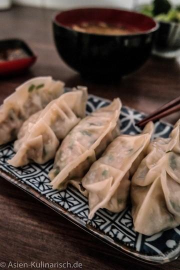 Rezept Gyoza - Japanische Teigtaschen