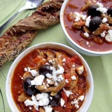 Rezept Gyros-Tomaten-Suppe