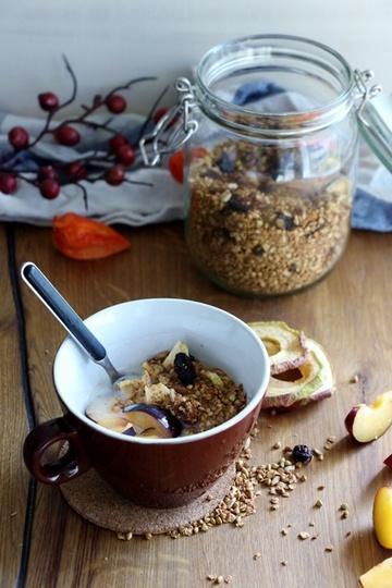 Rezept Haferflocken - Buchweizen Granola