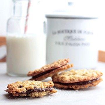 Rezept Haferflocken-Cookies mit Nutella