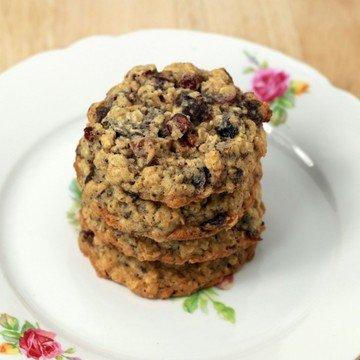Rezept Haferflocken Cookies