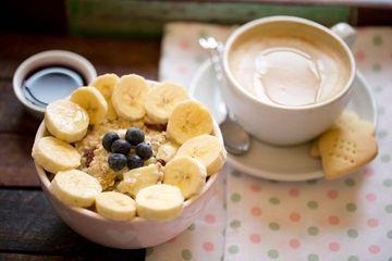 Rezept Haferflocken Frühstück mit Seidentofu