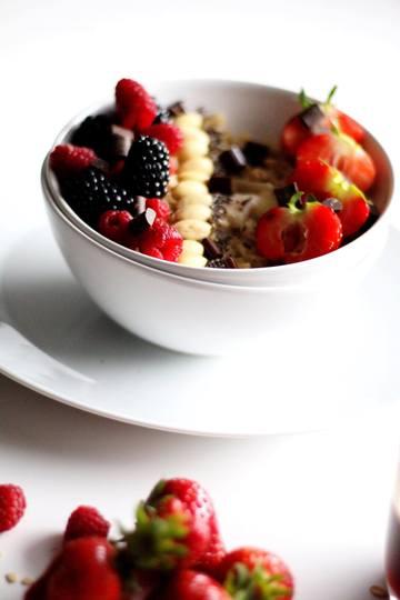 Rezept Haferflocken-Porridge