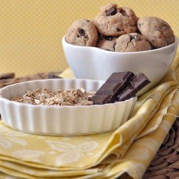Rezept Haferflockenkekse mit brauner Butter