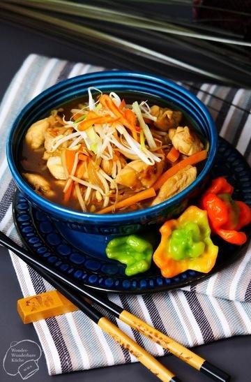 Rezept Hähnchen Chop Suey