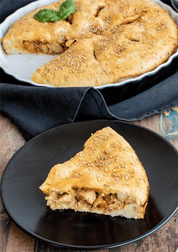 Rezept Hähnchen-Lauch-Kuchen