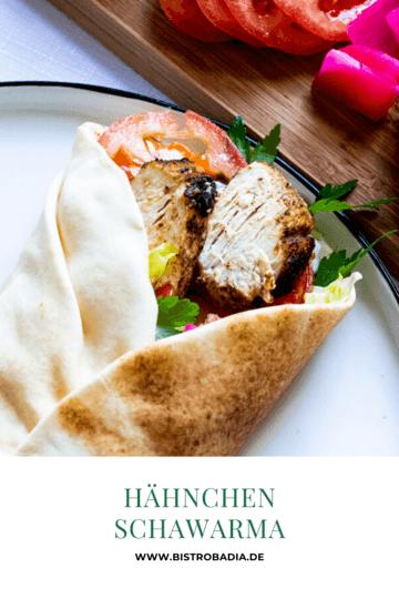 Rezept Hähnchen Schawarma