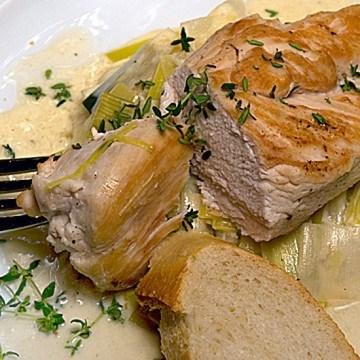 Rezept Hähnchenbrust à la moutarde nach Daniela Chemellis