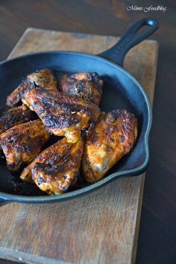 Rezept Hähnchenflügel Tandoori aus dem Backofen