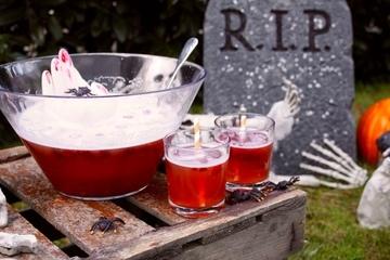 Rezept Halloween Bowle mit eiskaltem Händchen