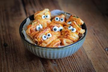 Rezept Halloween Poppers