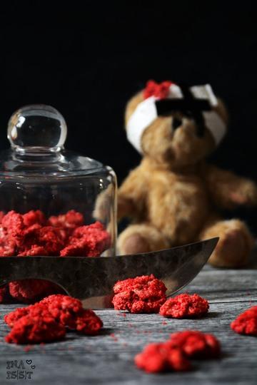 Rezept Halloween Spezial: Blutiges Hirn - Gebrannte Walnüsse