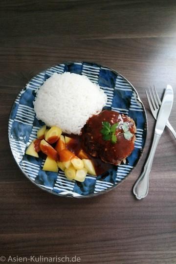 Rezept Hamburg - die japanische Version des Hamburgers