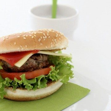 Rezept Hamburger, natürlich selbstgemacht und mit homemade Ketchup...
