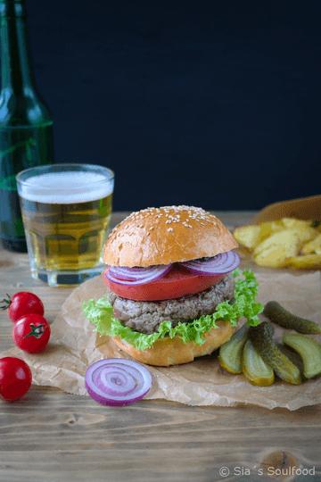 Rezept Hamburger