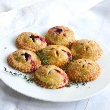 Rezept Hand Pies - Mini Pasteten süß und pikant