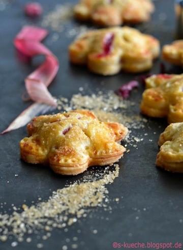 Rezept Hand Pies mit Rhabarber - Mini Pies