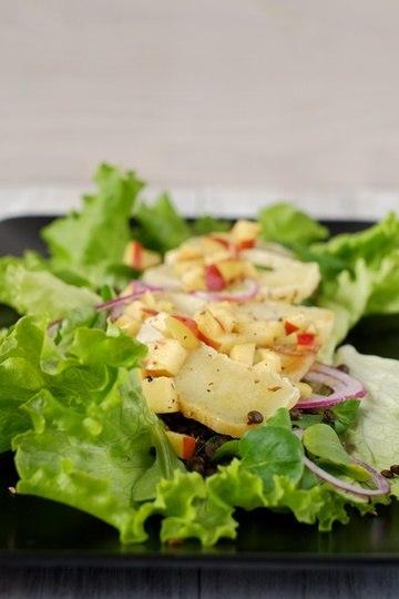 Rezept Handkäse-Salat