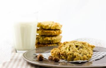 Rezept Haselnuss-Zimtblüten-Cookies