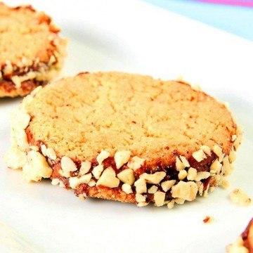 Rezept Haselnusskekse mit Nutellafuellung