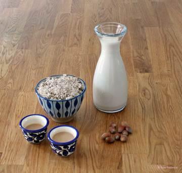 Rezept Haselnussmilch ganz einfach selbstgemacht
