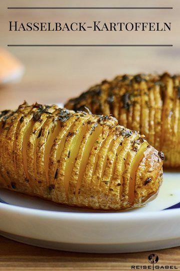 Rezept Hasselback-Kartoffeln mit Knoblauch und Thymian