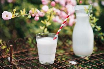 Rezept hausgemachte Mandelmilch