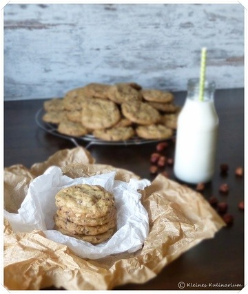 Rezept Hazelnut Chocolate Chip Cookies