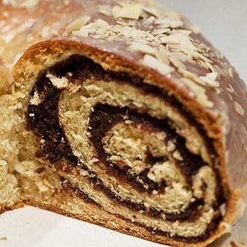 Rezept Hefebrezel mit Kakao-Nuss-Füllung