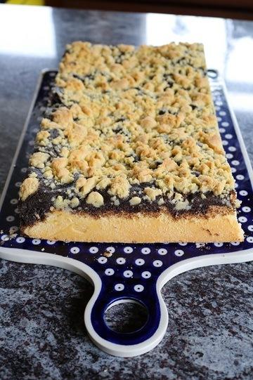 Rezept Hefekuchen mit Mohn und Streuseln