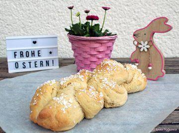 Rezept Hefezopf zu Ostern