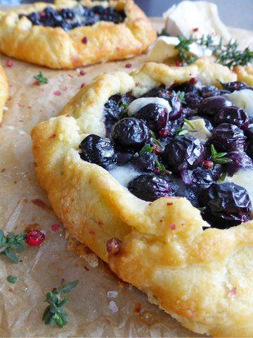 Rezept Heidelbeer-Camembert Crostata