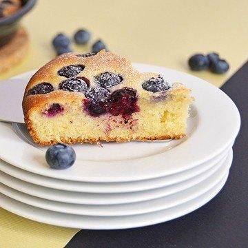 Rezept Heidelbeer Joghurt Kuchen