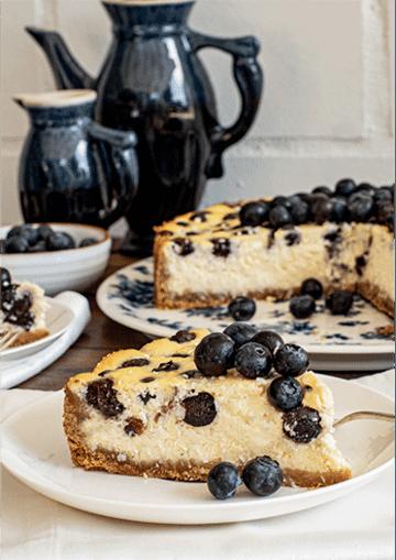 Rezept Heidelbeer-Ricotta-Kuchen