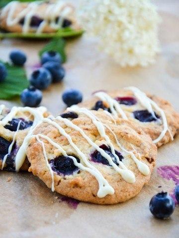 Rezept Heidelbeer(Blaubeer)-Schoko-Cookies