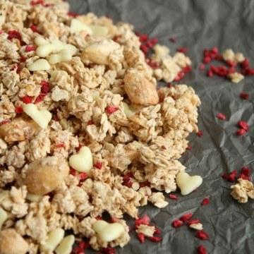 Rezept Heiß geliebt: Hot Love Granola