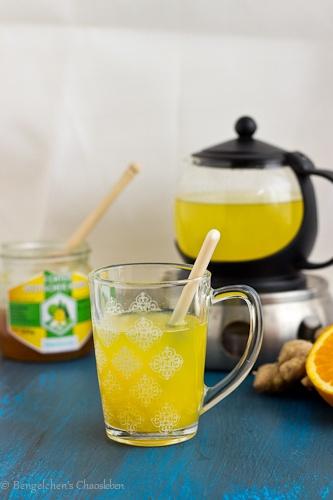 Rezept Heiße Orange mit Ingwer