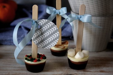 Rezept Heisse Schokolade am Stiel