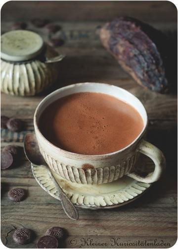 "Rezept Heiße Schokolade ""Hot Mary"""