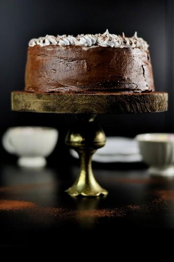 Rezept Heiße Schokolade Marshmallow Torte