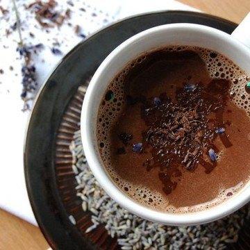 Rezept Heiße Schokolade mit Lavendel
