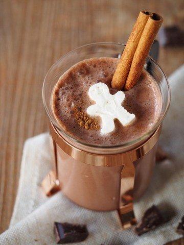 Rezept Heiße Schokolade mit Sahne