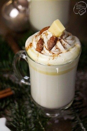 Rezept Heiße weiße Schokolade