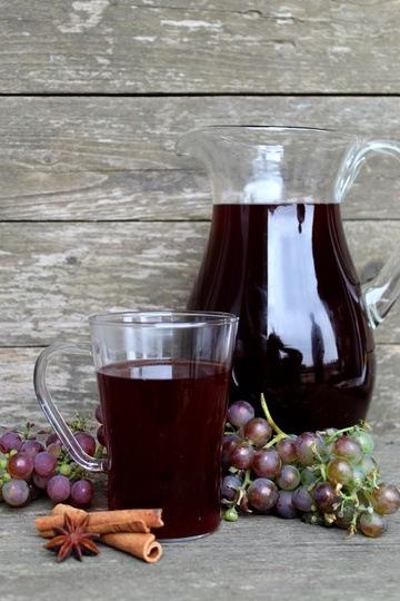 Rezept Heißer Traubenpunsch