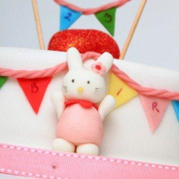 Rezept Hello Kitty Geburtagstorte