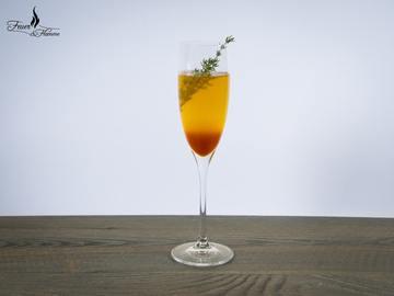Rezept Herber Winter Apéro mit Thymian und Grapefruit