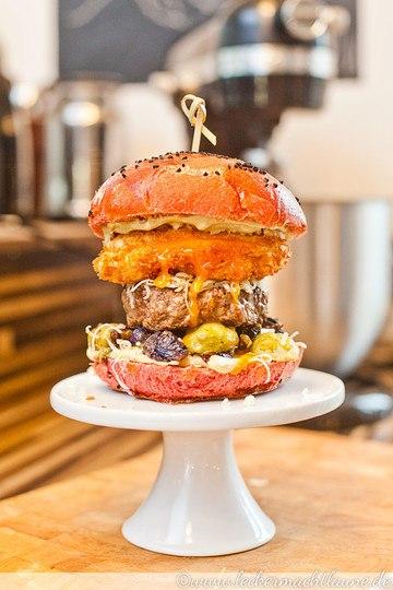 Rezept Herbstburger - mein erster Burger :)