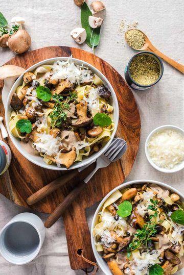 Rezept Herbstliche Pilz Pasta